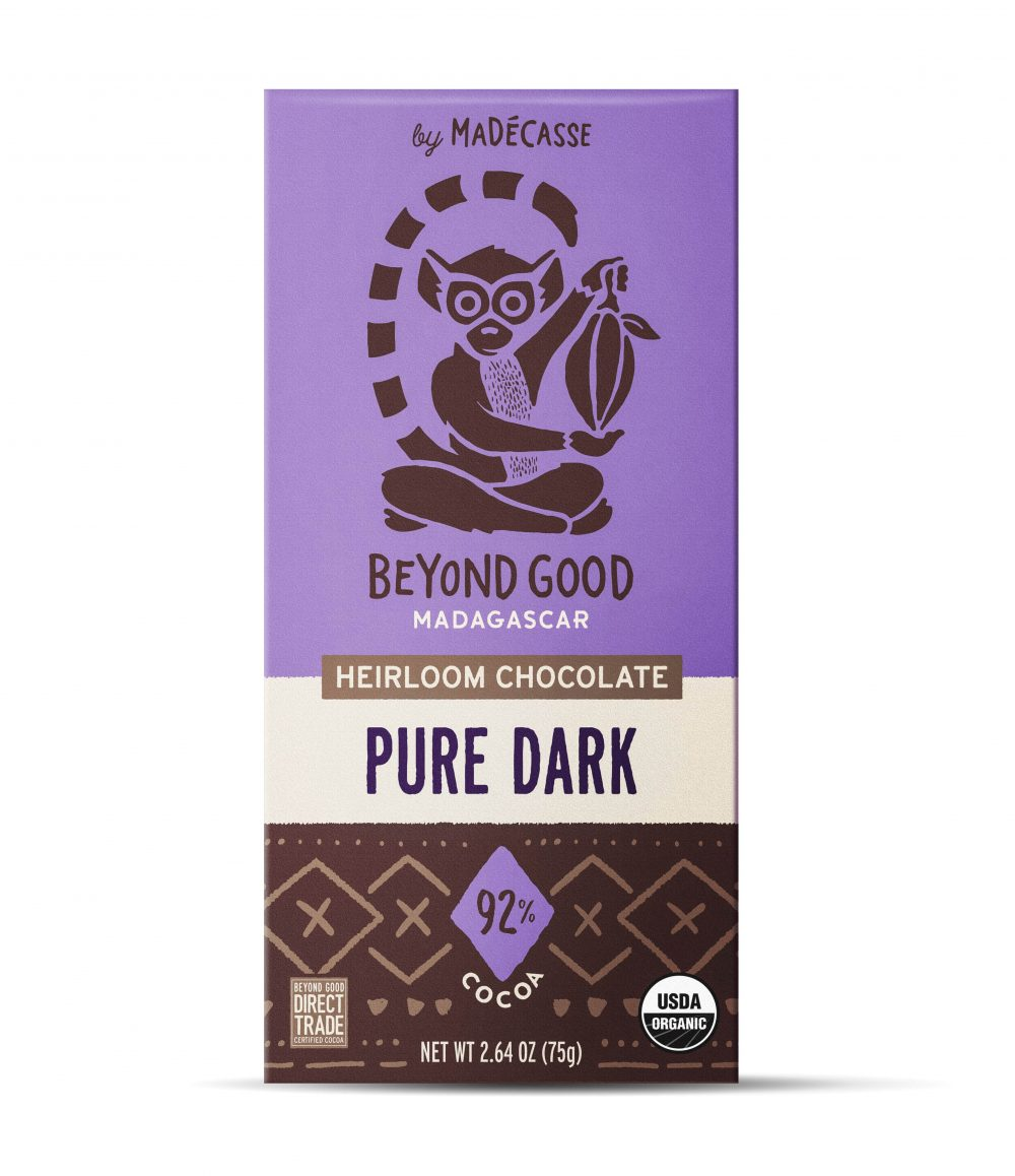 Beyond Good 92% Pure Dark Chocolate Bar-min