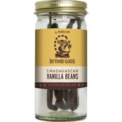 Beyond Good by Madécasse - Three Pure Madagascar Vanilla Beans
