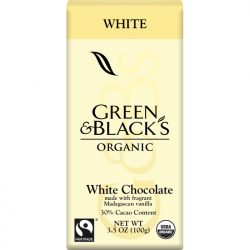 Green & Black's 30% White Chocolate Bar