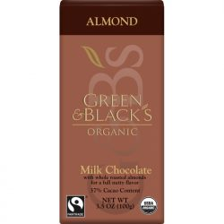 Green & Black's 34% Almond Milk Chocolate Bar
