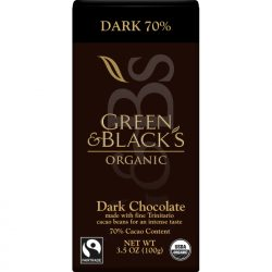 Green & Black's 70% Dark Chocolate Bar