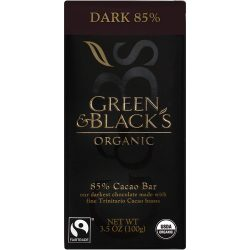 Green & Black's 85% Dark Chocolate Bar
