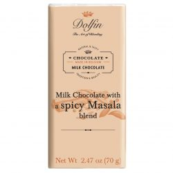 Dolfin 38% Milk Chocolate Bar With Hot Masala