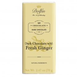 Dolfin 60% Dark Chocolate Bar with Ginger
