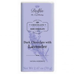 Dolfin 60% Dark Chocolate Bar with Lavender