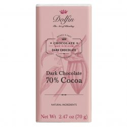 Dolfin 70% Dark Chocolate Bar