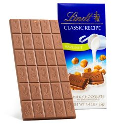 Lindt Classic Recipe Hazelnut Milk Chocolate Bar
