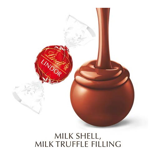 Lindt LINDOR Milk Chocolate Truffle Box