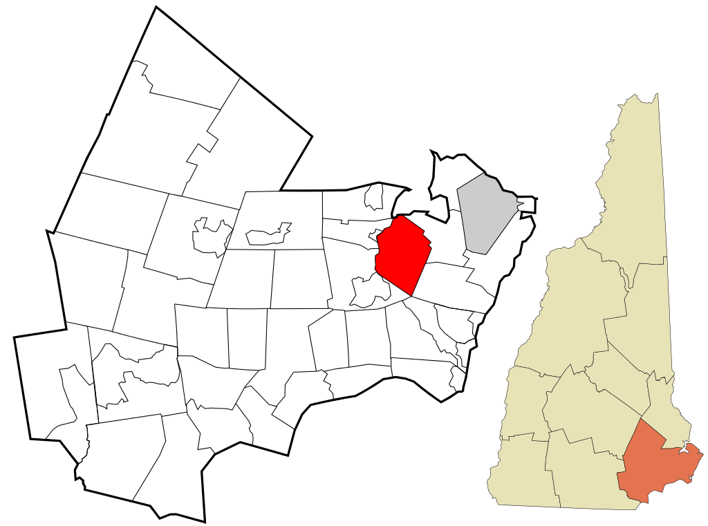 Rockingham County stratham nh highlighted