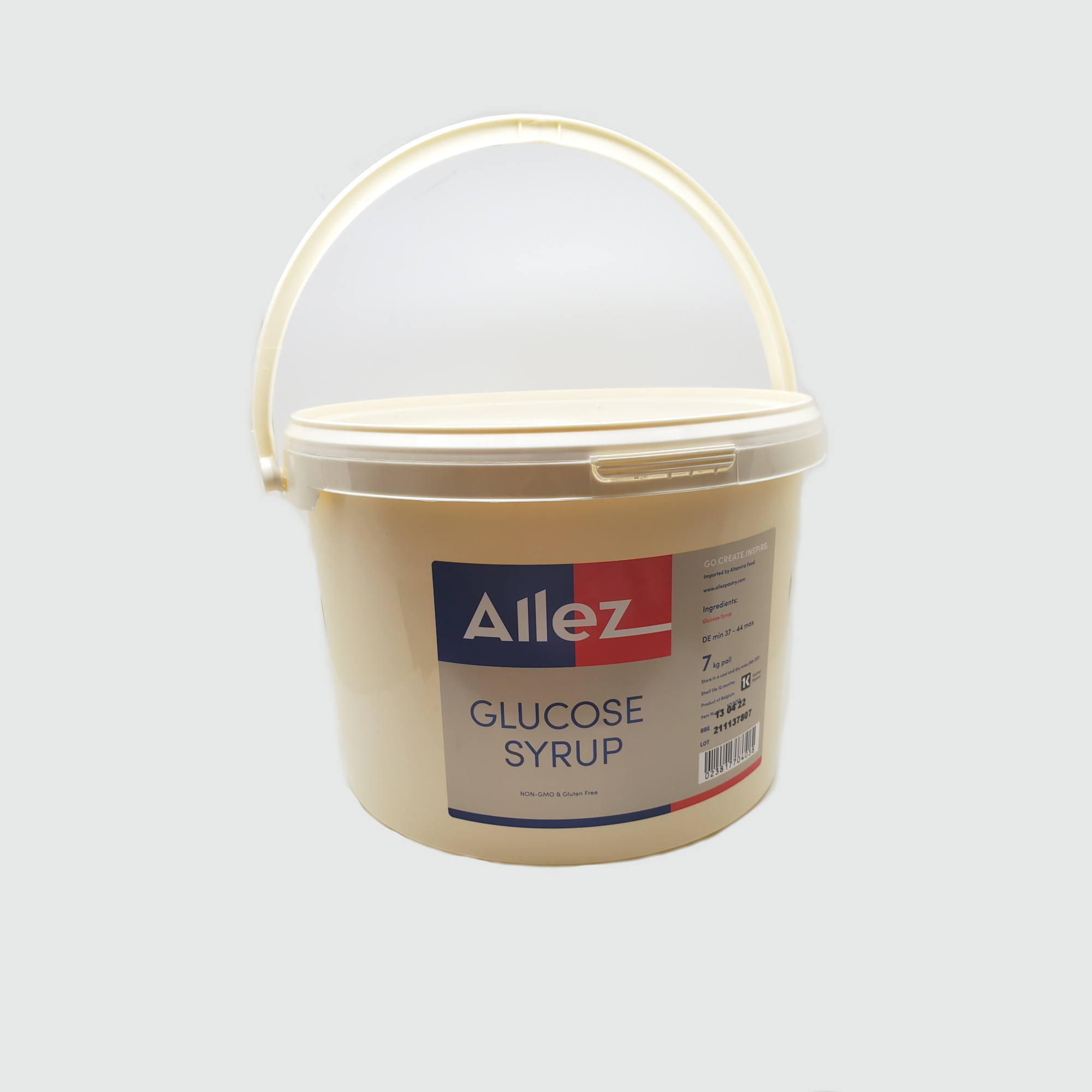 Allez Glucose Syrup Container s
