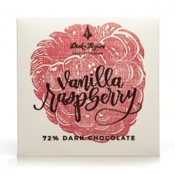 Dick Taylor Madagascar 72% Dark Chocolate Bar with Vanilla Raspberry