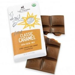 Lake Champlain 38% Milk Chocolate bar with Caramel
