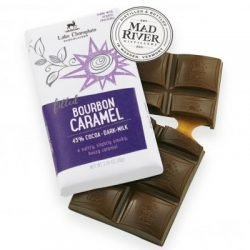 Lake Champlain 43% Dark Milk Chocolate Bar with Bourbon Caramel