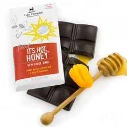 Lake Champlain 57% Dark Chocolate Bar with Hot Honey Caramel