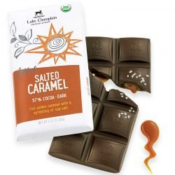 Lake Champlain 57% Dark Chocolate Bar with Salted Caramel