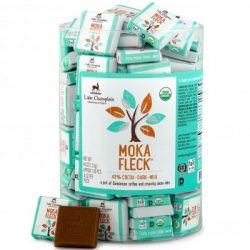Lake Champlain Moka Fleck® 43% Dark Milk Chocolate Squares
