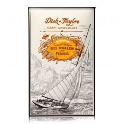 Dick Taylor Seasonal Release Brazil 70% Dark Chocolate Bar with Bee Pollen & Fennel