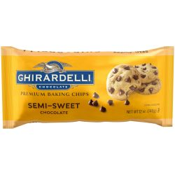Ghirardelli Semisweet Chocolate Baking Chips