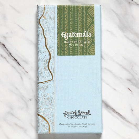French Broad Guatemala 73% Dark Chocolate Bar