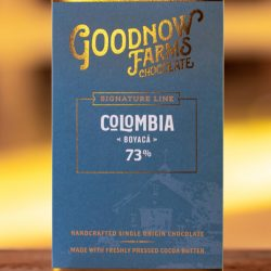 Goodnow Farms Boyaca Colombia 73% Dark Chocolate Bar