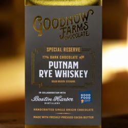 Goodnow Farms Special Reserve Ecuador 77% Dark Chocolate Bar with Putnam Rye Whiskey