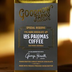Goodnow Farms Special Reserve Guatemala 77% Dark Chocolate Bar with Las Palomas Coffee