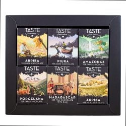 Taste Artisan Chocolate 6-Piece Mini Chocolate Bar Flight
