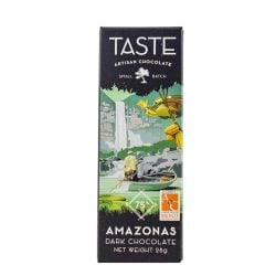 Taste Artisan Chocolate Amazonas Peru 75% Mini Dark Chocolate Bar