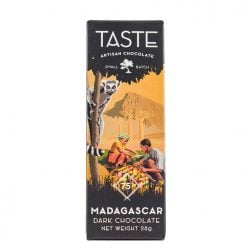Taste Artisan Chocolate Mini Madagascar 75% Dark Chocolate Bar