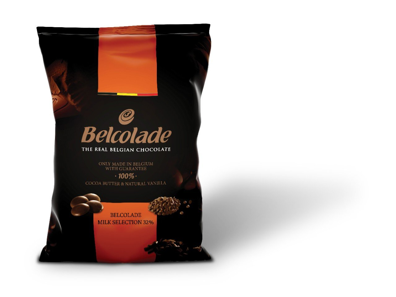 Belcolade Lait Selection 32% Milk Chocolate