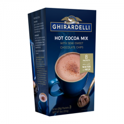 Ghirardelli Hot Cocoa Mix with Semi-Sweet Chocolate Chips