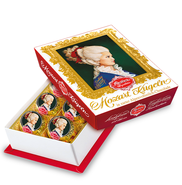 Reber Constanze® Mozart-Kugeln® 6-Piece Portrait Box
