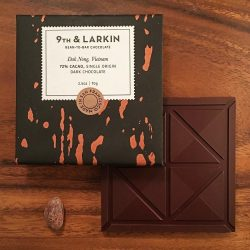 9th & Larkin Dak Nong Vietnam 72% Dark Chocolate Bar-min