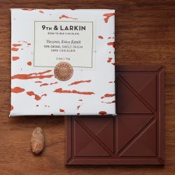 9th & Larkin Kokoa Kamili Tanzania 72% Dark Chocolate Bar-min