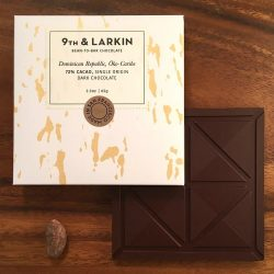 9th & Larkin Öko-Caribe Dominican Republic 72% Dark Chocolate Bar-min