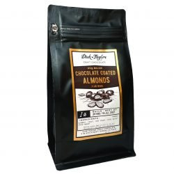 Dick Taylor Chocolate Covered Almonds 1lb Bag-min