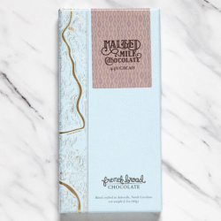 French Broad Malted 44% Milk Chocolate Bar