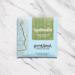 French Broad Guatemala 73% Mini Dark Chocolate Bar