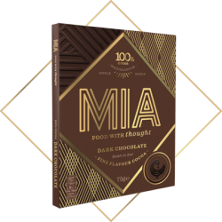 MIA 100% Dark Chocolate Bar