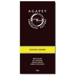 Agapey 60% Dark Chocolate Bar with Toasted Cashew