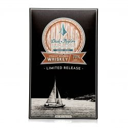 Dick Taylor Limited Release Straight Bourbon Whiskey 70% Dark Chocolate Bar