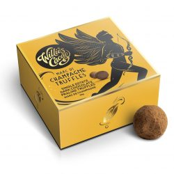 Willie's Cacao 5-Piece Dark Chocolate Champagne Truffles