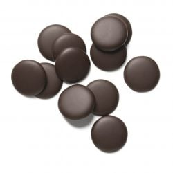 Guittard Onyx 72% Dark Couverture Chocolate Wafers