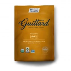 Guittard Organic 66% Semisweet Dark Couverture Chocolate Wafers