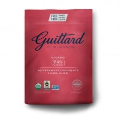 Guittard Organic 74% Dark Couverture Chocolate Wafers