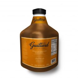 Guittard Rich & Creamy Caramel Flavored Syrup