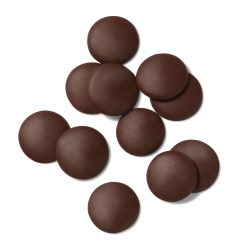 Guittard French Vanilla 54% Dark Couverture Chocolate Wafers
