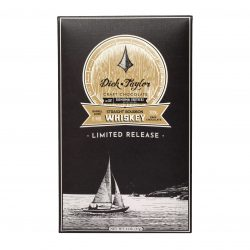 Dick Taylor Limited Release 70% Belize Dark Chocolate Bar with Sonoma Brothers Straight Bourbon Whiskey