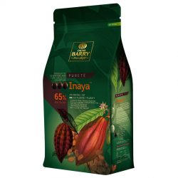 Cacao Barry Inaya™ 65% Dark Couverture Chocolate Discs